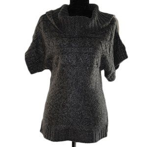 RD Style Cowl Neck Short Sleeve Top Size S/P